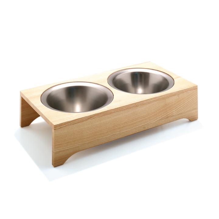 Dog Feeding Bowls by side by side