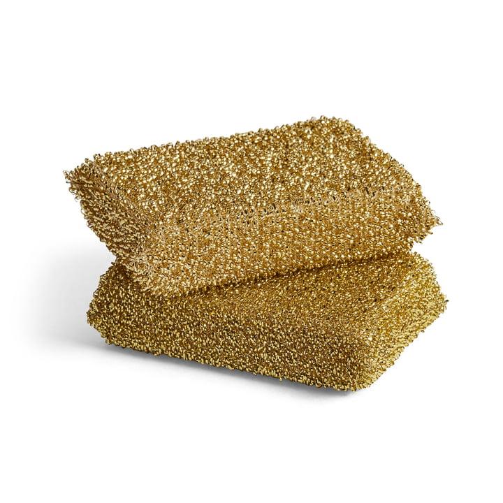 The Hay - Lurex Sponge in Gold (set of 2)