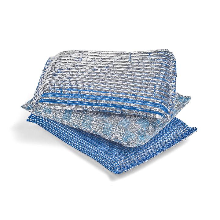 The Hay - Glitter Sponge in Blue (Set of 3)