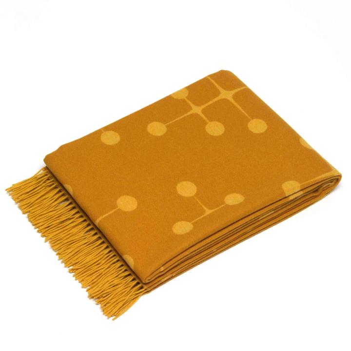 Vitra - Eames rug, Dot Pattern, mustard