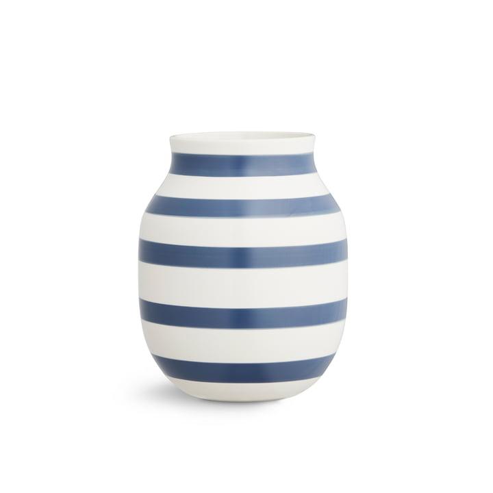 Omaggio Vase H 200 by Kähler Design in Light Blue
