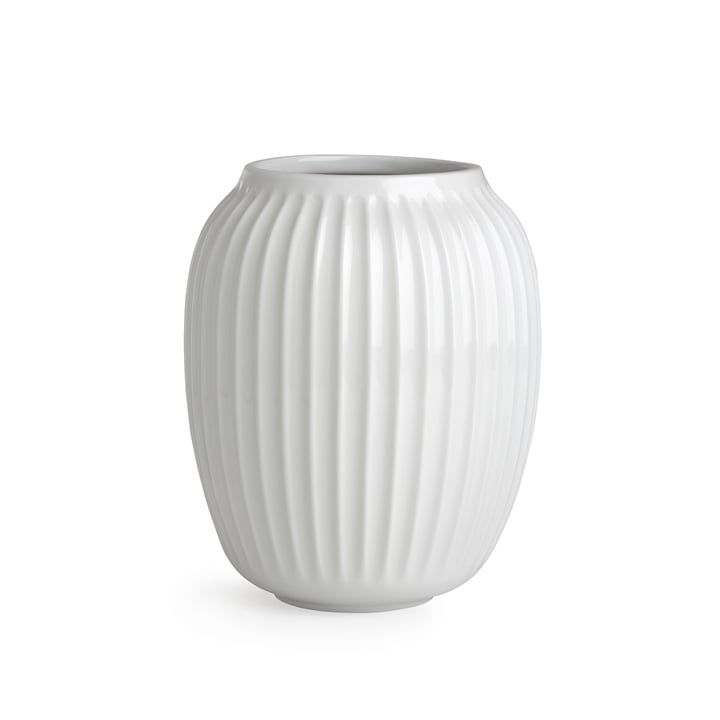 Hammershøi Vase H 20 cm from Kähler Design in white
