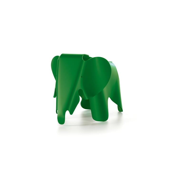 Eames Elephant by Vitra in palm green
