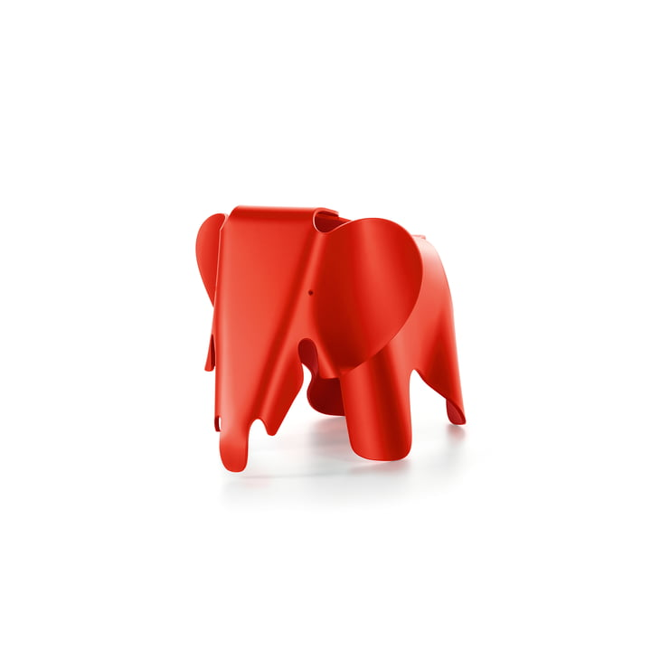 Eames Elephant by Vitra in poppy red