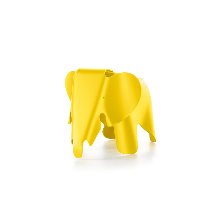 Eames Elephant by Vitra in butter yellow