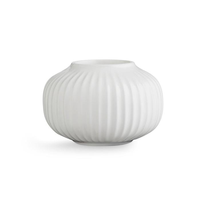 Kähler Design - Hammershøi Tealight Holder H 6.5 cm, white
