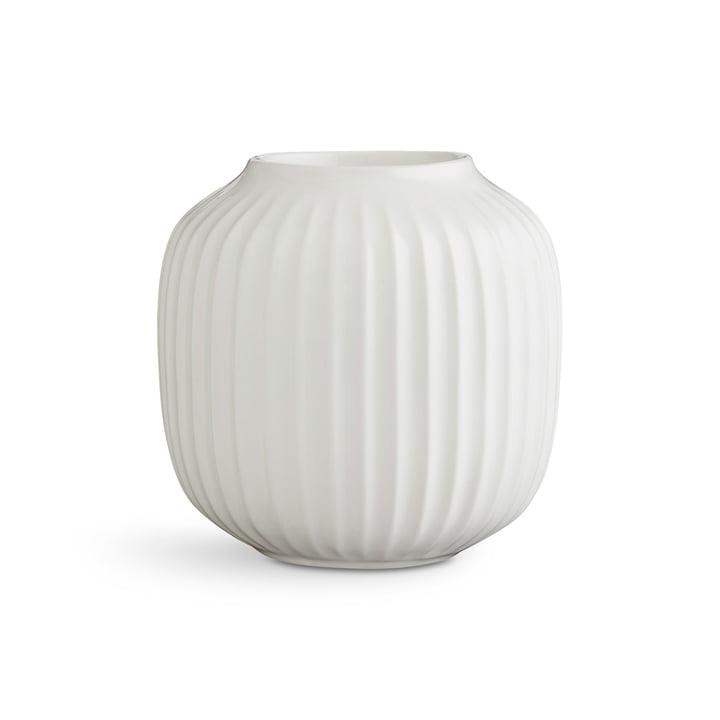 Kähler Design - Hammershøi Tealight Holder H 9 cm, white
