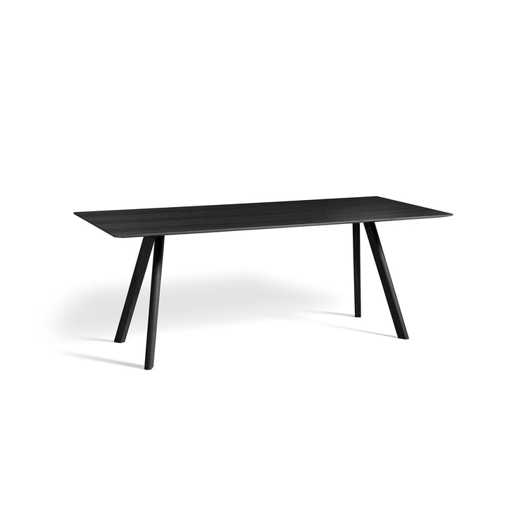 Hay - Copenhague CPH30 Table 200 x 90 cm in Black Stained Oak