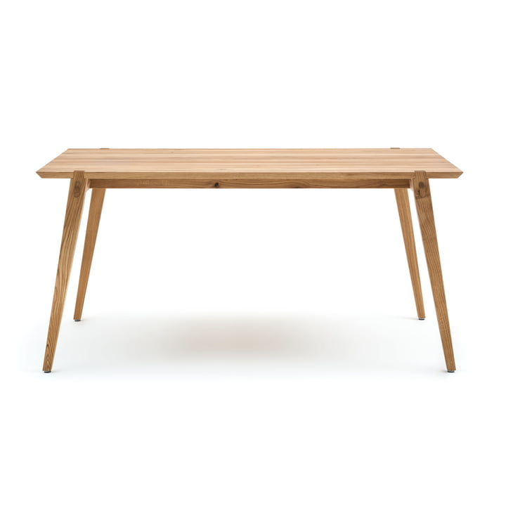 156 Dining Table 160 x 84 cm by freistil out of Natural Oak