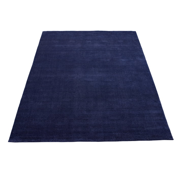 Earth Bamboo Rug 170 x 240 cm by Massimo in Vibrant Blue