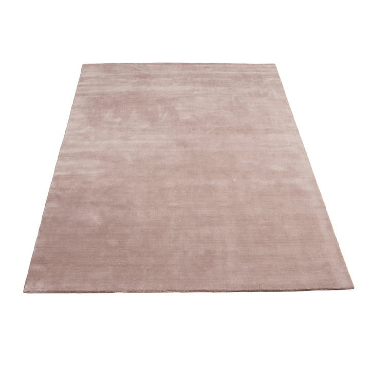 Earth Bamboo Rug 170 x 240 cm by Massimo in Nougat Pink
