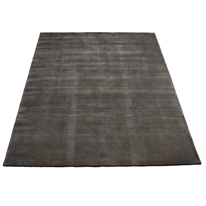 Earth Bamboo Rug 200 x 300 cm by Massimo in Charcoal