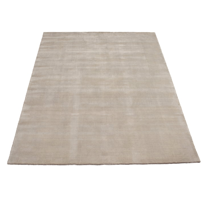 Earth Bamboo Rug 200 x 300 cm by Massimo in Soft Grey