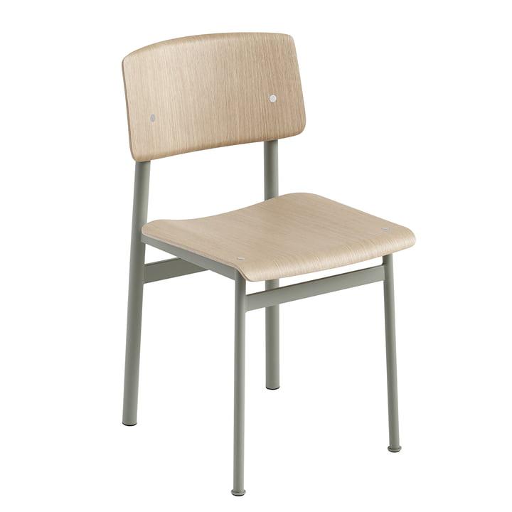 Loft Chair by Muuto in Oak / Dusty Green