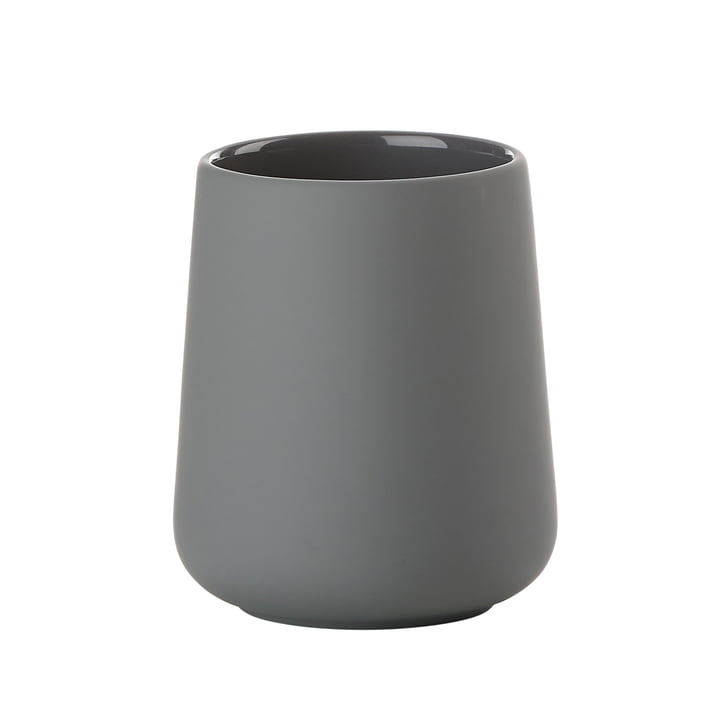 Nova One Toothbrush Holder by Zone Denmark in Grey