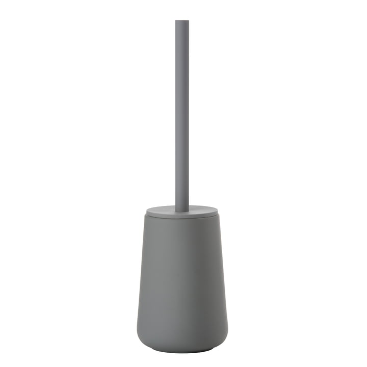 Nova One Toilet Brush by Zone Denmark in Grey