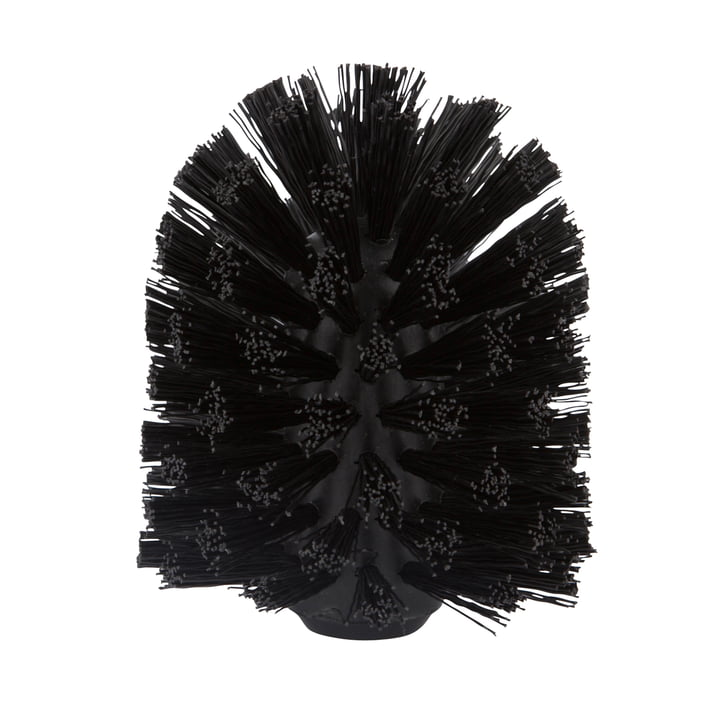 The Zone Denmark - replacement brush for Cylinder / Nova / Saxo / Nova One / Solo toilet brush in black