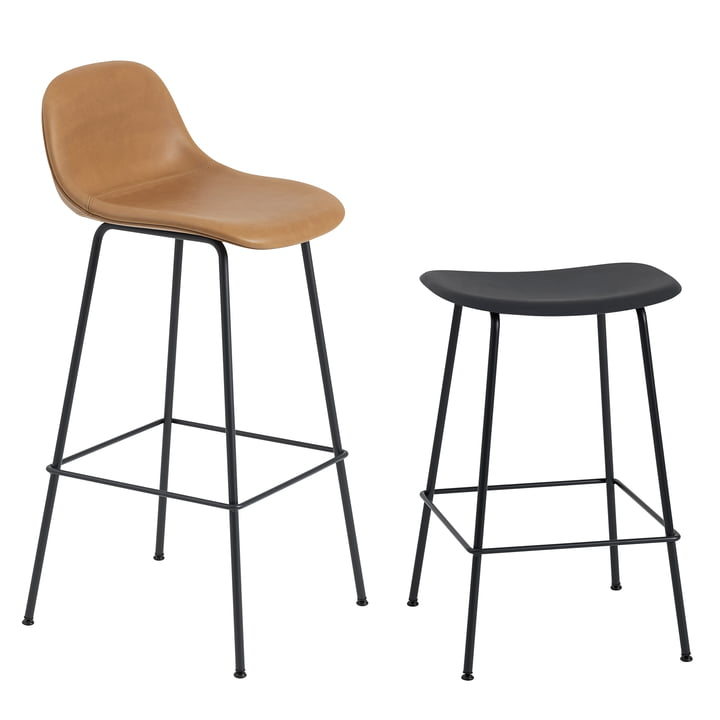 Fiber Bar Stool Tube Base By Muuto Connox