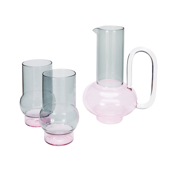 The Tom Dixon - Bump Jug with Glass