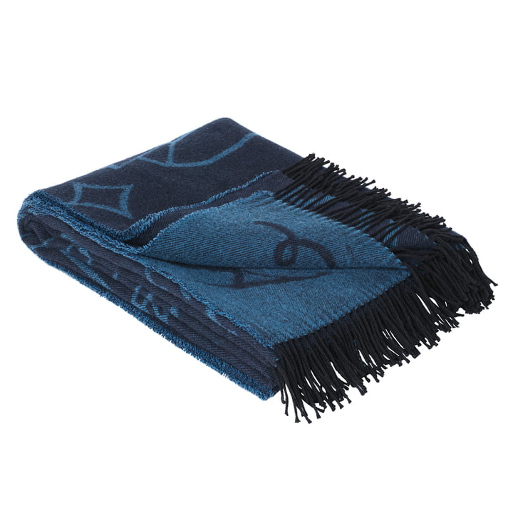 The Fritz Hansen - Wool Blanket by Jaime Hayon in Blue