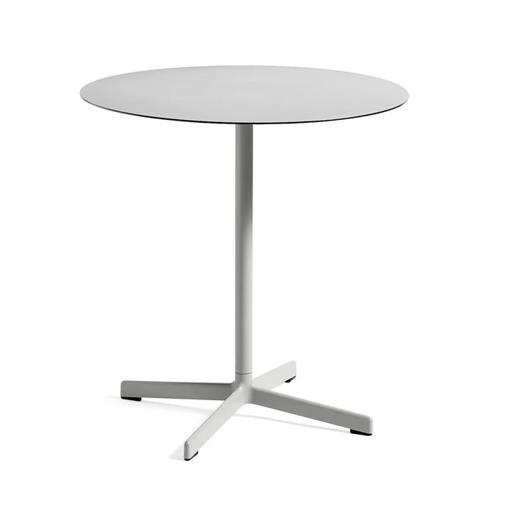 Neu table Ø 70 cm by Hay in Light Grey