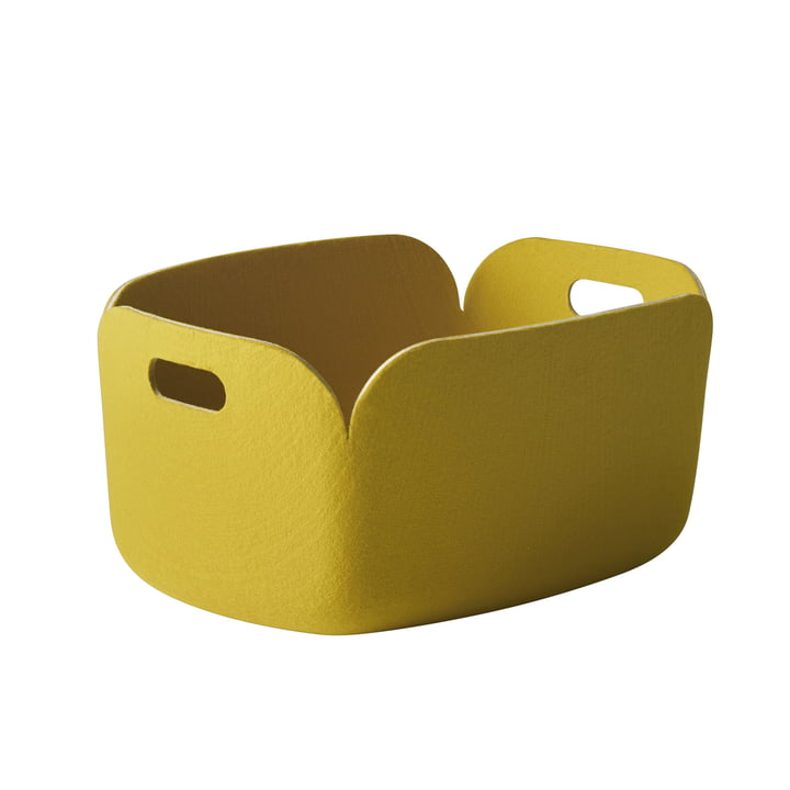 Muuto - Restore Basket, yellow