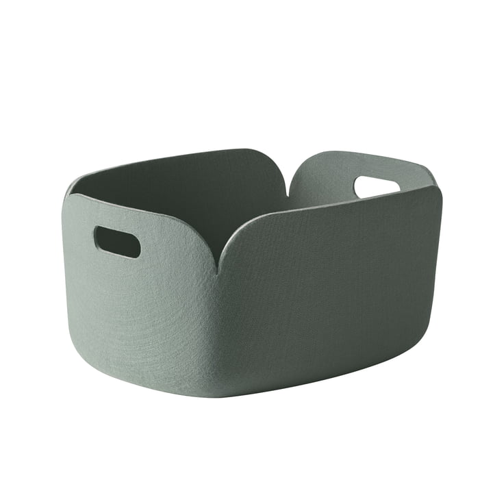 Muuto - Restore Basket, dusty green