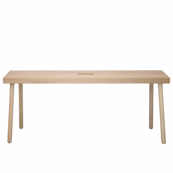 Baenkk bench by kommod in natural oak untreated