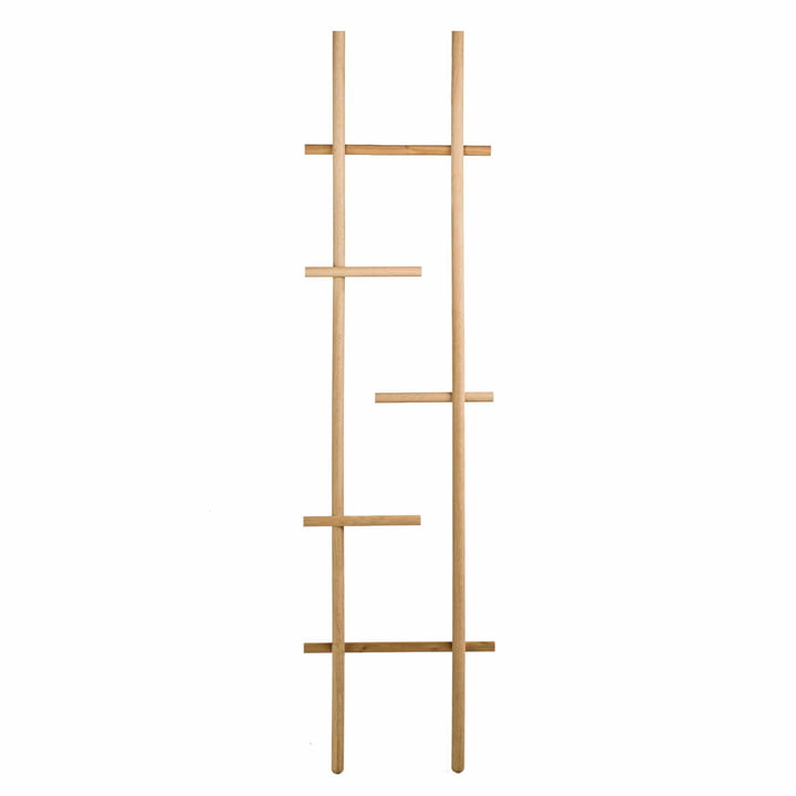 kommod - Lendra Ladder / Leaning Coat Rack in Oak