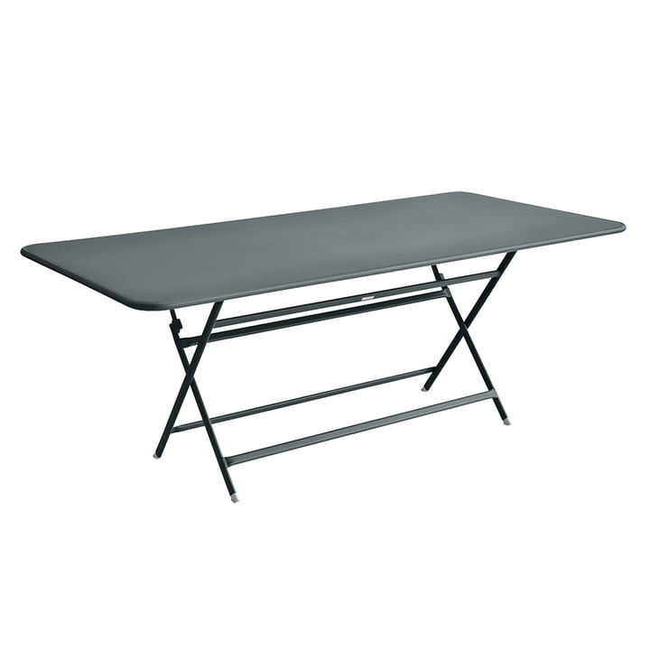 The Fermob - Caractère Table, 190 x 90 cm in Weather Grey