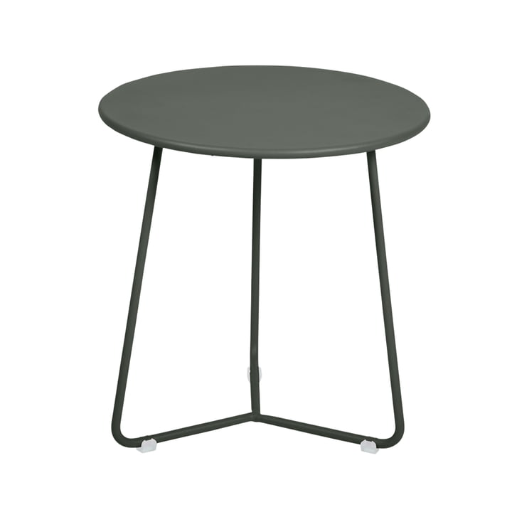 The Fermob - Cocotte Side Table / Stool, Ø 34 cm x H 36 cm in rosemary