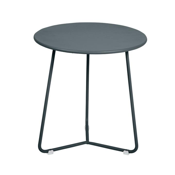 Fermob - Cocotte Side Table / Stool, Ø 34 cm x H 36 cm, storm grey