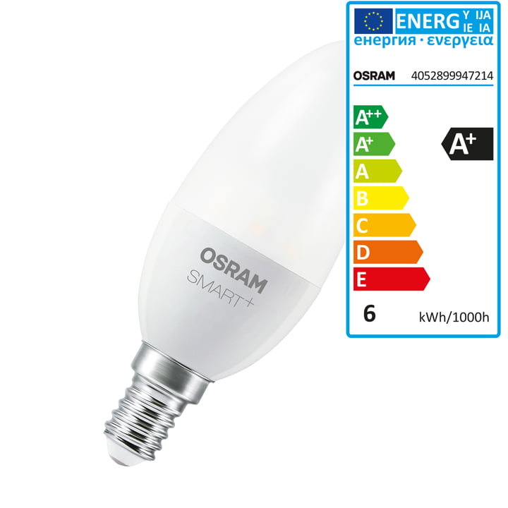 smart led classic b 40 tunable white by osram. Black Bedroom Furniture Sets. Home Design Ideas