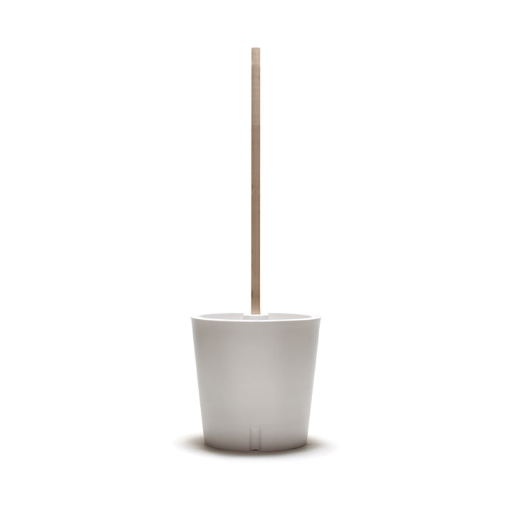 Flower and plant trolley from urbanature in white