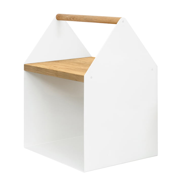 Tiny House Side Table in White - Connox Collection