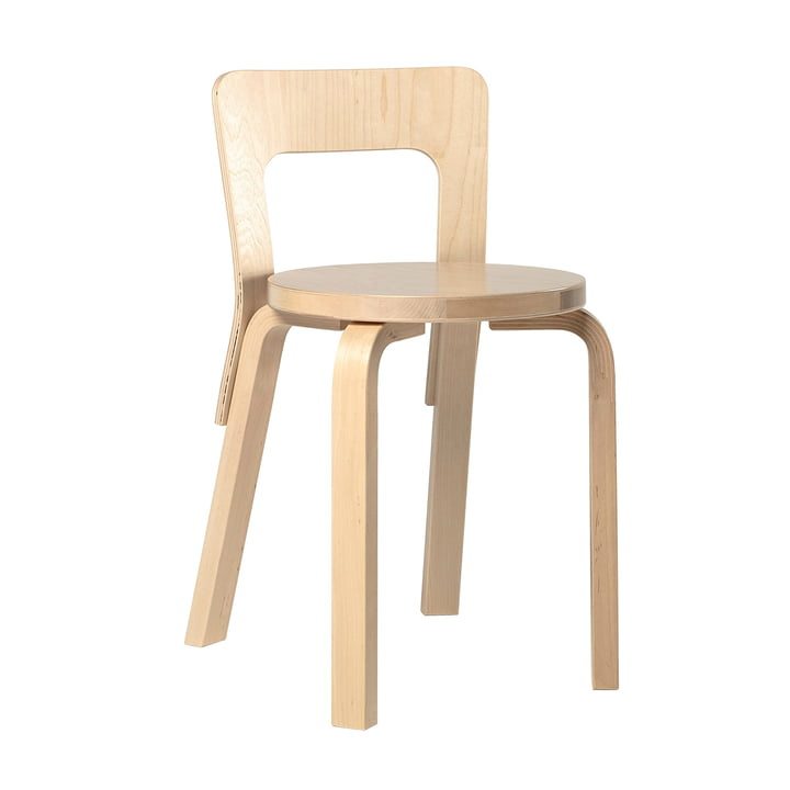 The Artek 65 Chair, Birch Veneer