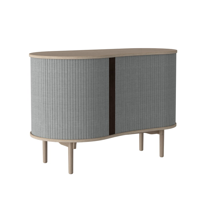 Audacious chest of drawers by Umage in natural oak / silver gray