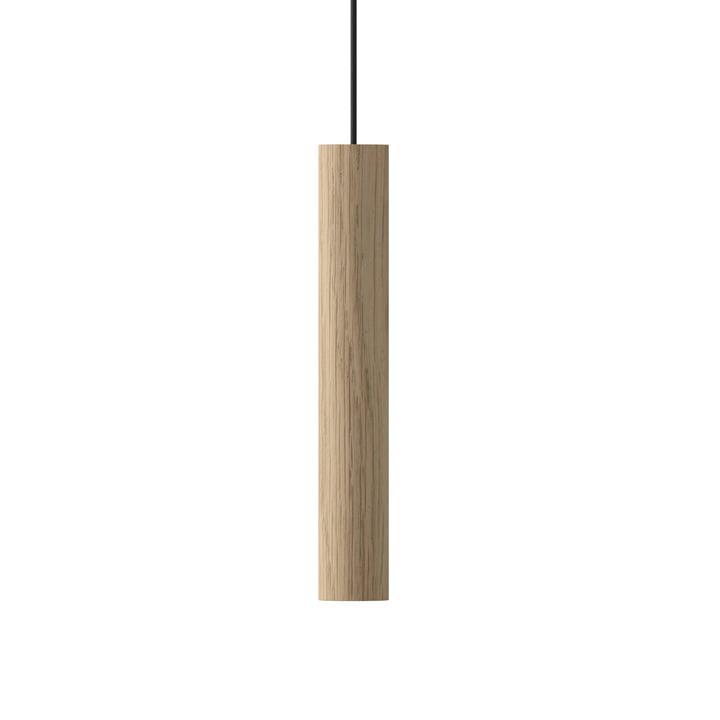 The Umage - Chimes pendant light LED, Ø 3 x 22 cm, oak