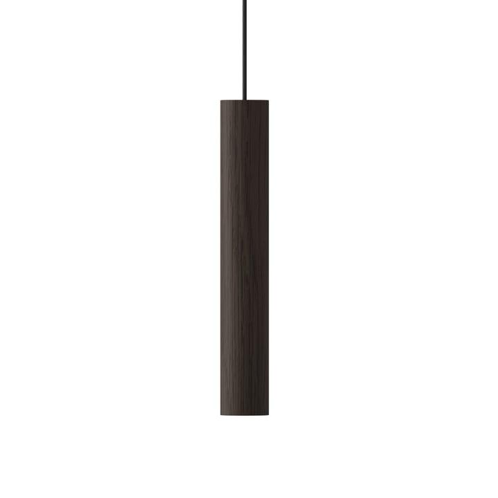 The Umage - Chimes Pendant lamp LED, Ø 3 x 22 cm, dark oak