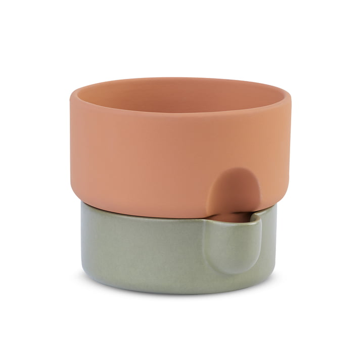 The Northern - Oasis plant pot, Ø 15 x H 13 cm, green