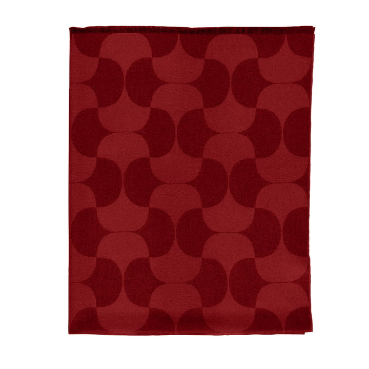 Verpan - Polette Wollen Blanket, burgundy