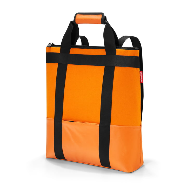 daypack canvas by reisenthel in orange