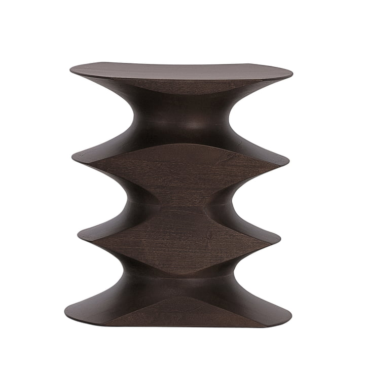 The Vitra - Stool by Herzog & de Meuron in Dark Brown