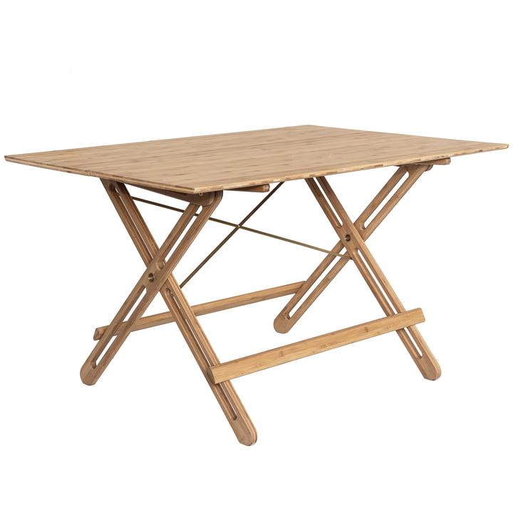 We Do Wood - Field Folding Table, bamboo