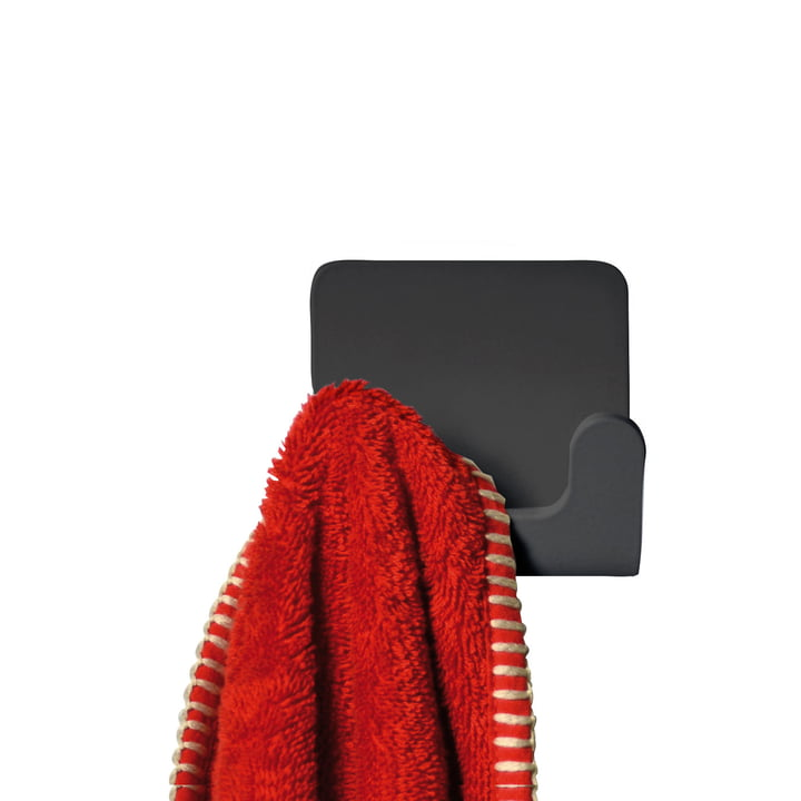Radius Design - Puro Towel Hook in Black