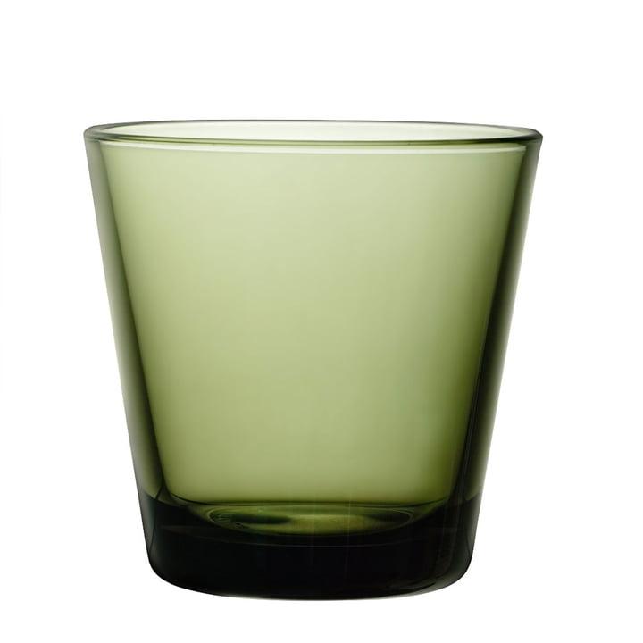 Iittala - Kartio Glass by Iittala, moss green