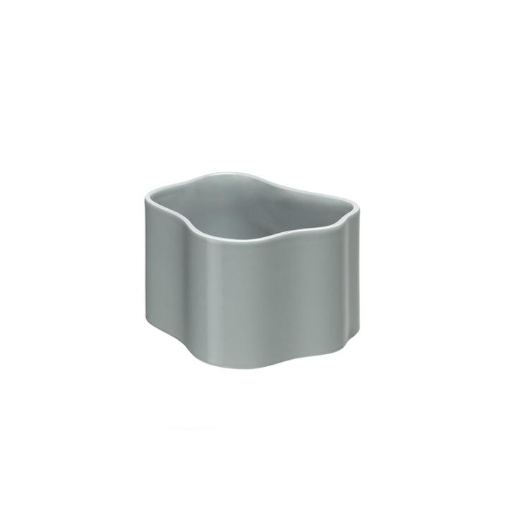 Riihitie Plant Pot (Form B) in Small  by Artek in Light Grey