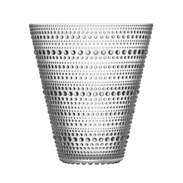 Iittala - Kastehelmi Vase 154 mm, Clear