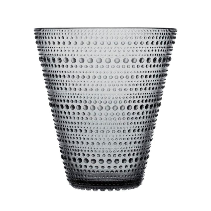 Iittala - Kastehelmi Vase 154 mm, grey