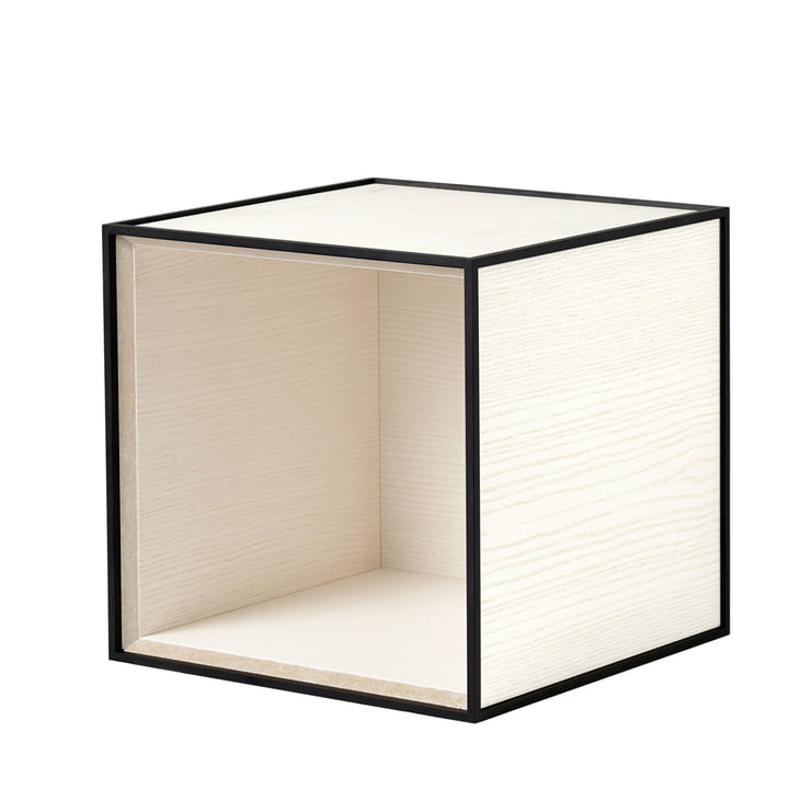 Frame Cabinet 28 from by Lassen in White Stained Ash